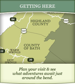 Getting Here - Plan your visit and see what adventures await just around the bend
