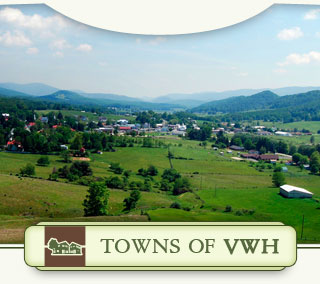 Towns of Virginia's Western Highlands