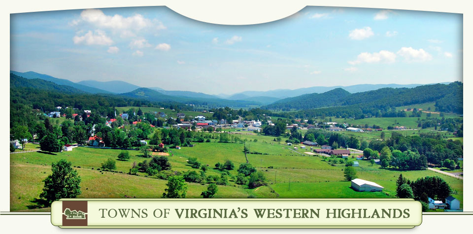 Towns of Virginia's Western Highlands - View from Trimble Knob in Monterey, Virginia