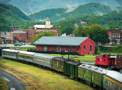 Railway heritage in Clifton Forge, Virginia