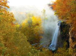 Falling Spring Falls in Alleghany Highlands, Virginia