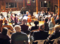 Performance at the Garth Newel Music Center in Bath County