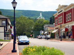Downtown Hot Springs, Virginia