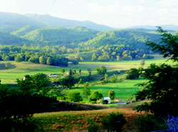 Scenic views in New Castle, Virginia