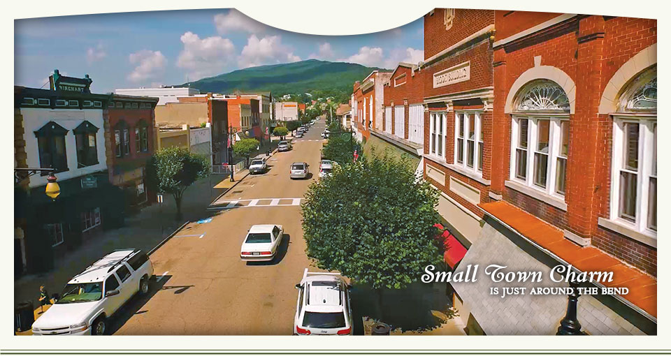 Small town charm is just around the bend - Clifton Forge, Alleghany County, Virginia