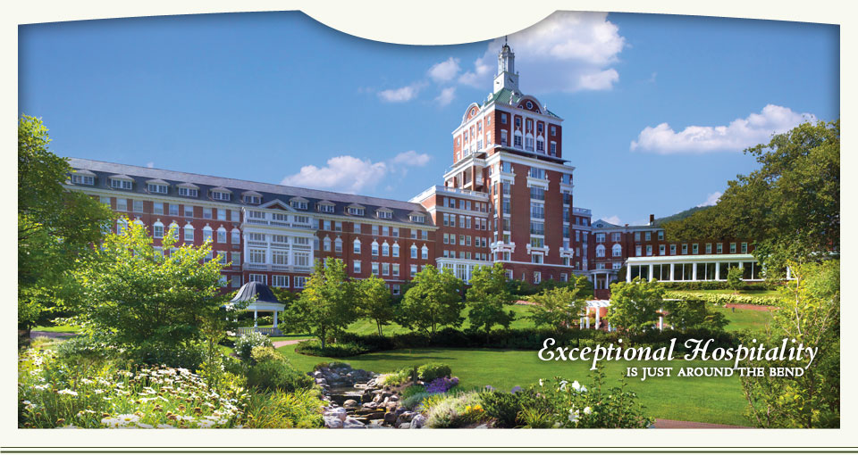Exceptional Hospitality is just around the bend - The Omni Homestead Resort, Bath County, Virginia
