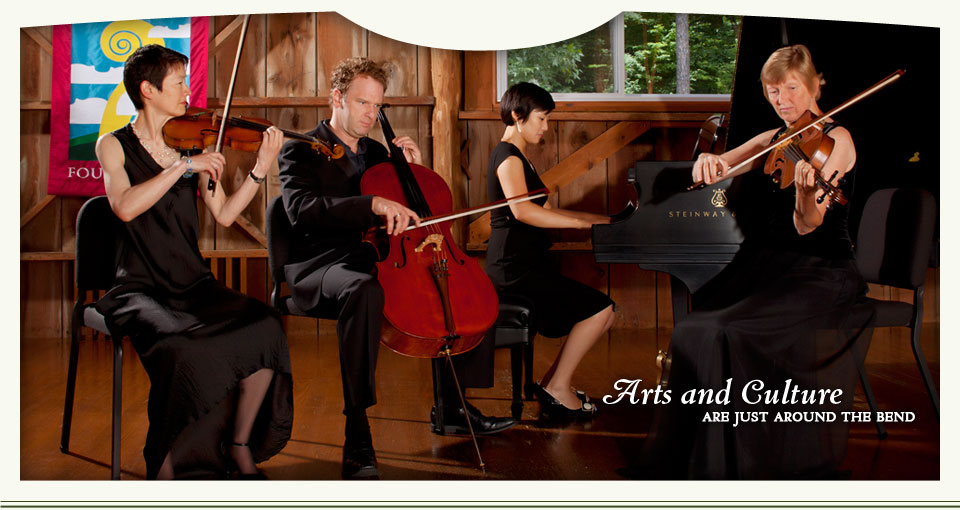Arts and Culture are just around the bend - Garth Newel Music Center in Bath County, Virginia
