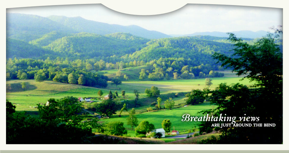 Breathtaking views are just around the bend – Highland County, Virginia